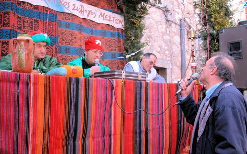 Ο Αγάς στα Μεστά την Καθαρή Δευτέρα, δικάζει τον ηθοποιό Δημήτρη Αυγουστίδη