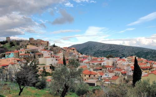 Δαφνώνας, άποψη του χωριού